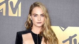 Cara Delevingne's MTV Movie Awards Braided Hairstyle Is Even Cooler Close Up