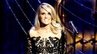 Swoon Over Carrie Underwood's Sheer Gown — And Her Perfectly Toned Legs