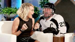 Ellen DeGeneres Gives Carrie Underwood a Scream-Worthy Scare: Watch