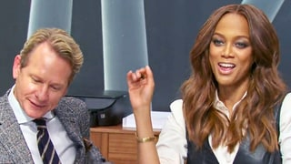 Tyra Banks Applies Makeup to Carson Kressley in 'The New Celebrity Apprentice' Premiere Sneak Peek