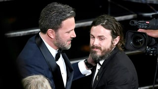 Casey Affleck Talks Ben Affleck's 'Very Moving' Reaction to His Oscar Win — Plus, Who He Forgot to Thank in Acceptance Speech