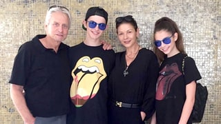 Catherine Zeta-Jones and Michael Douglas' Kids, Dylan and Carys, Rock Out at 'Oldchella'