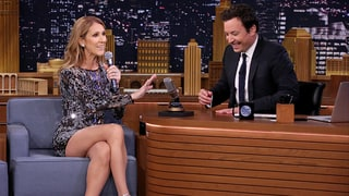 Celine Dion Impersonates Rihanna, Sia and More Playing Wheel of Musical Impressions With Jimmy Fallon