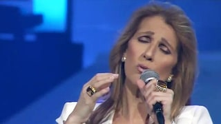 Celine Dion Dedicates 'My Heart Will Go On' Performance to Late Husband Rene Angelil: Watch