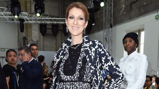 Celine Dion at Giambattista Valli