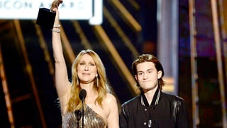 Celine Dion Joined by Son René-Charles in Emotional Acceptance Speech at 2016 'Billboard' Music Awards