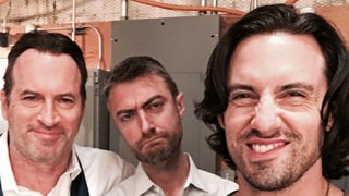 Milo Ventimiglia Is Back on the 'Gilmore Girls' Set and Hotter Than Ever: Photos!