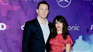 Channing Tatum Upstaged By Wife Jenna Dewan Tatum's Bare Leg