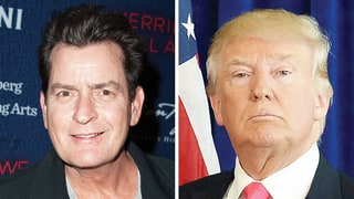 Charlie Sheen Responds to Backlash After Tweeting Prayer for God to Take Donald Trump Next