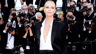 Charlize Theron Steams Up the Cannes Red Carpet in a Smoking Hot Tuxedo