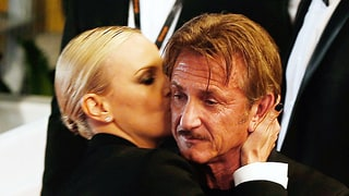 These Frosty Photos of Charlize Theron and Ex Sean Penn Hugging, Interacting Are So Relatable
