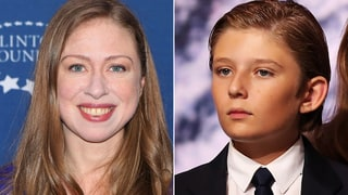 Chelsea Clinton Defends Barron Trump While Advising Twitter Followers to Stand Up to His Dad, Donald Trump