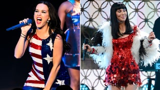 Katy Perry, Cher Join Nationwide Women's Anti-Trump March