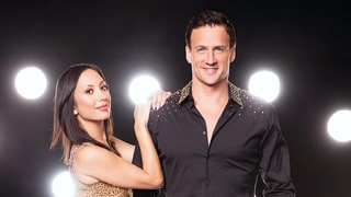 Ryan Lochte and Cheryl Burke