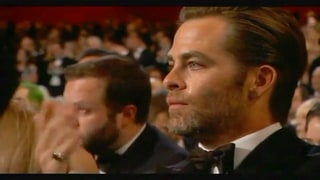 Chris Pine Cries at 'Glory' Performance