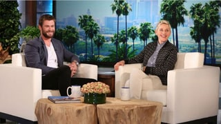 Chris Hemsworth Tells Ellen DeGeneres: My Daughter Wants a Penis!