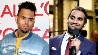 Chris Brown Claps Back at Aziz Ansari for 'SNL' Donald Trump Comparison With Racist Remark