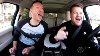 Chris Martin Pays Tribute to David Bowie During Carpool Karaoke With James Corden