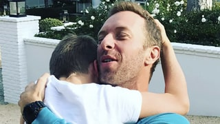 Gwyneth Paltrow Shares Sweet Photo of Ex-Husband Chris Martin Being Reunited with Son Moses