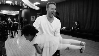 Chris Martin Dances With Blue in Beyonce's Super Bowl Photos — See the Adorable Pics