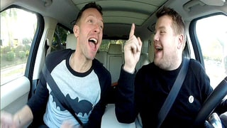 Chris Martin Joins James Corden for Super Bowl Carpool Karaoke Preview: Watch!