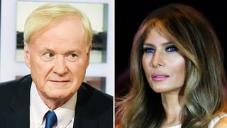 Chris Matthews Caught Fawning Over Melania Trump on Hot Mic