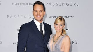 Chris Pratt and Anna Faris Glam It Up (and Smooch!) on the Red Carpet