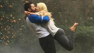 Christina Aguilera (and Her Fiance) Win Instagram With This Dramatic Shot