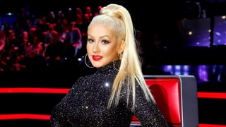 Christina Aguilera Reveals What's in Her Bags for 'The Voice': Throat Spray, Highlighters — and Crystals!