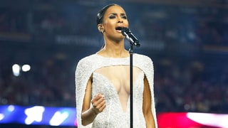 Ciara Wore This Dress to Perform the National Anthem and the Internet Is Outraged