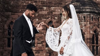 This Is What Ciara's Custom-Made Wedding Shoes Looked Like