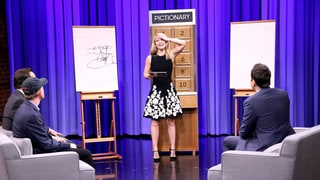 Claire Danes Totally Beats Ron Howard at Jimmy Fallon's Pictionary Game