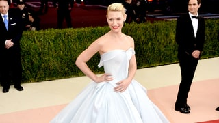 Claire Danes Had the Ultimate Cinderella Moment in Light-Up Princess Dress