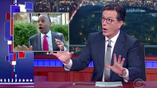 Watch Colbert Guess Where Ben Carson Lost His Luggage