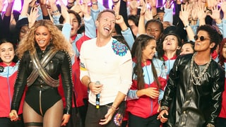 Coldplay Rocks Colorful Super Bowl 50 Halftime Show With Bruno Mars and Beyonce