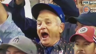 Bill Murray's Reaction to the Chicago Cubs Winning the World Series Has Twitter Melting Down