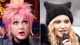 Cyndi Lauper Criticizes Madonna's Fiery Women's March Speech: 'I Don't Think It Served Our Purpose'