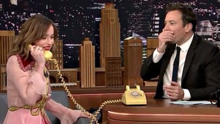 Dakota Johnson Drops the F-Bomb While Playing the Acting Game With Jimmy Fallon: Watch