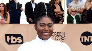 SAG Awards 2017's Flashiest Beauty Moment: Hair Bling on Danielle Brooks, Millie Bobby Brown, Janelle Monae and Vanessa Kirby