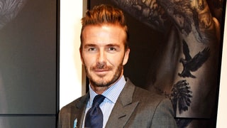 David Beckham Debuts Ginormous Tattoo On His Ankle