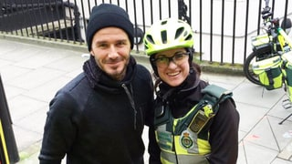 David Beckham Buys Tea and Coffee for London Paramedic: See the Cute Pic!