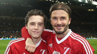 David Beckham Talks Instagram Rivalry With Son Brooklyn: He Doesn't Think I'm a Cool Dad