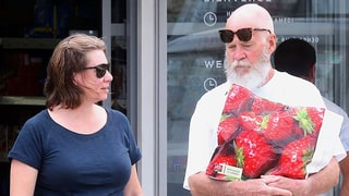 Retired David Letterman Spends His Weekday Strawberry Shopping With His Wife in St. Bart's: Photos
