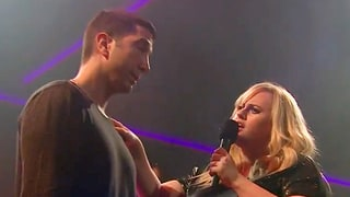 James Corden Slams David Schwimmer in 'Drop the Mic,' Rebel Wilson Joins In