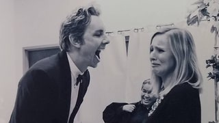This Throwback Photo From Kristen Bell and Dax Shepard's Wedding Is Too Funny