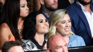 Demi Lovato Steps Out After Split From Wilmer Valderrama, Attends UFC Match