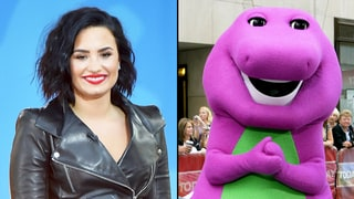 Demi Lovato Had a Crush on Barney: He Was 'Jacked'!