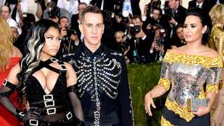 Demi Lovato Reacts to Nicki Minaj's Incredible Side-Eye in Met Gala 2016 Pic