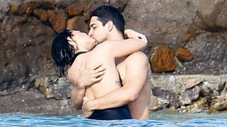 Demi Lovato and Wilmer Valderrama Share Major PDA While Vacationing: Pics