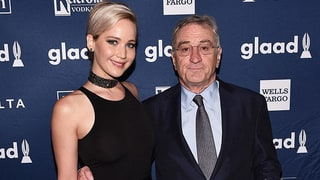 Robert De Niro Jokes With Jennifer Lawrence at GLAAD Awards: 'If I Were a Lesbian, I'd Be All Over You'
